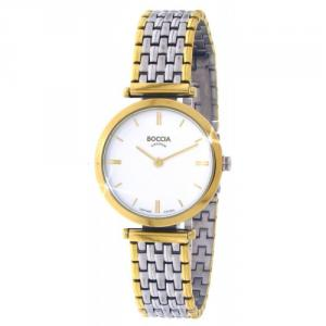 Boccia Damen Titan Uhr bicolor 3253-05