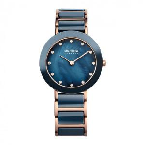 BERING Ceramic Collection Rosé blau 29 mm