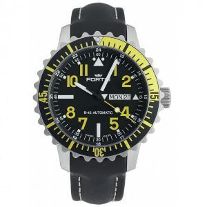 Fortis Aquatis Marinemaster DayDate Yellow 670.24.14 L.01