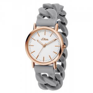 Soliver S.Oliver Unisex Armbanduhr rosé ionenplattiert SO-3257-PQ