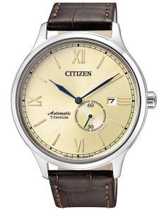 Citizen NJ0090-13P Automatik-Herrenuhr Titan