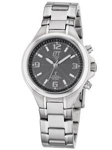 ETT Eco Tech Time ELS-11177-31M Solar Drive Funk Damen-Armbanduhr