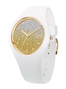 Ice Watch Ice-Watch 013428 Damenuhr Ice Lo Weiß/Gold S
