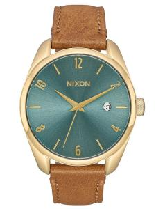 Nixon A473 2626 Damenuhr Bullet Leather Light Gold