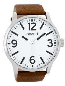 Oozoo C8570 Armbanduhr XL Cognac 50 mm