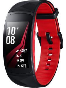 Samsung SM-R365 Fitnesstracker Gear Fit2 Pro Größe L Schwarz/Rot