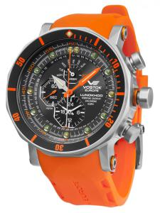 Vostok Europe YM86-620A506 Herrenuhr Chronograph Lunokhod 2