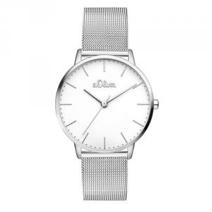 Soliver S.Oliver Unisex Armbanduhr Edelstahl SO-3444-MQ