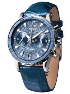 Vostok Europe VK64-515A526 Damen-Armbanduhr Undine mit 3 Armbändern Blau