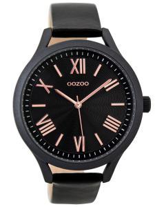 Oozoo C9479 Damenuhr mit Lederband schwarz 42 mm