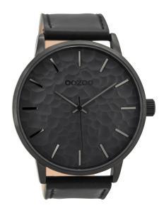 Oozoo C9444 Herrenuhr Schwarz/Grau 48 mm