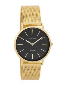 Oozoo C9349 Damen-Uhr Vintage Goldfarben/Schwarz 32 mm