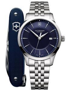 Victorinox 241802.1 Herren-Armbanduhr und Taschenmesser Alliance