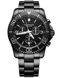 Victorinox 241797 Herren-Armbanduhr Maverick Chrono Black Edition