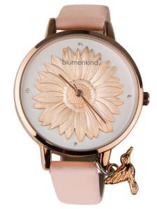 Blumenkind 04091981RWHPRO Damenarmbanduhr Roségold/Kirschblüte
