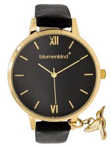 Blumenkind 20021988GBKPBK Damenarmbanduhr Gold/Schwarz