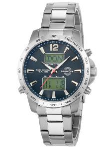 Master Time MTGS-10647-20M Herren-Funkarmbanduhr Chronograph World Timer