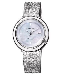 Citizen EM0640-82D Eco-Drive Damenuhr Elegance mit Diamant