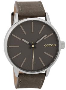 Oozoo C9606 Herrenuhr 45 mm Design-Zifferblatt Grau