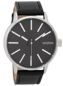 Oozoo C9608 Herrenuhr 45 mm Design-Zifferblatt Schwarz