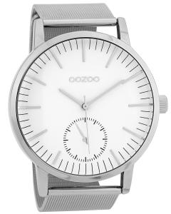 Oozoo C9620 Herren-Armbanduhr 48 mm Weiß/Silberfarben