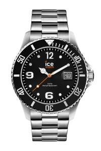Ice Watch Ice-Watch 016031 Herrenuhr Ice Steel Black Silver M
