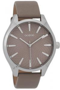 Oozoo C9687 Damenuhr Taupe 43 mm