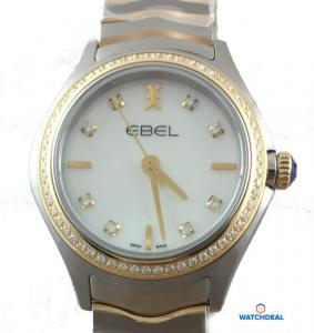 Ebel Wave Lady 1216351 Quarz 30mm