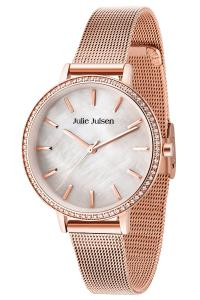 Julie Julsen JJW41RGME Damenuhr Sparkle Rosé Mesh