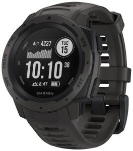 Guess Garmin 010-02064-00 Outdoor-Smartwatch Instinct Schiefergrau/Schwarz