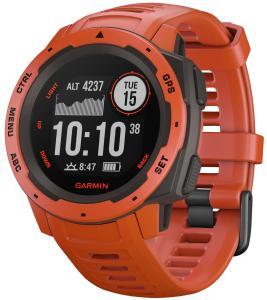 Guess Garmin 010-02064-02 Outdoor-Smartwatch Instinct Hellrot/Schiefergrau