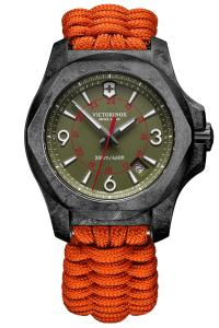 Victorinox 241800.1 Uhren-Set I.N.O.X. Carbon Limited Edition, mit 2 Armbändern