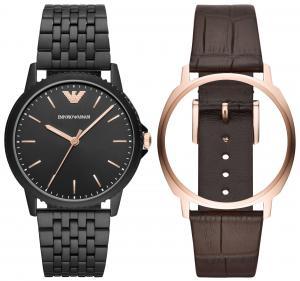 Emporio Armani AR80021 Uhrenset für Herren