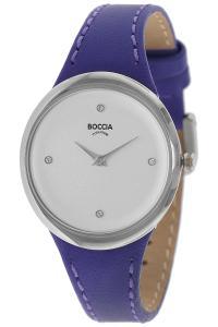 boccia 3276-11 Titan-Damenuhr mit Lederband