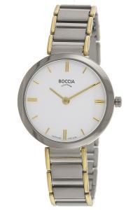 boccia 3289-02 Damenarmbanduhr aus Titan