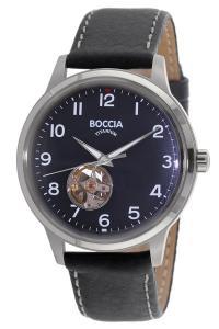 boccia 3613-03 Herren-Automatikuhr mit Lederband