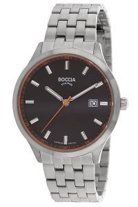 boccia 3614-03 Titan-Herrenuhr mit Saphirglas