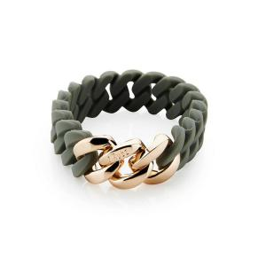 THE RUBZ Armband Classic Mini - Green Tea & Rose Gold