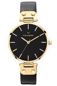 Mockberg MO113 Damen-Armbanduhr Saga Black