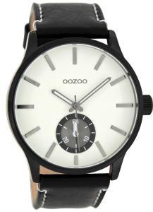 Oozoo C9083 XL Herren-Armbanduhr Schwarz/Weiß 45 mm