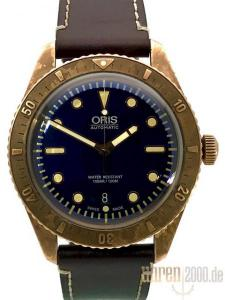 Oris Divers Carl Brashear Limited Edition 01 733 7720 3185-Set LS aus 2016