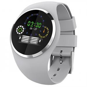 Atlanta 9703/4 Smartwatch mit Touchdisplay Hellgrau