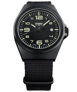 Traser H3 108218 Herrenuhr P59 Essential M Schwarz