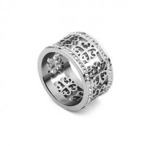 QUDO Damenring Avellina crystal Q626574