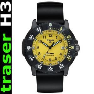 Traser H3  Diver - Taucheruhr mit Silikonband