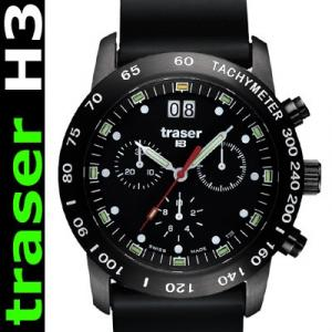 Traser H3 Classic Chrono mit Silikonband